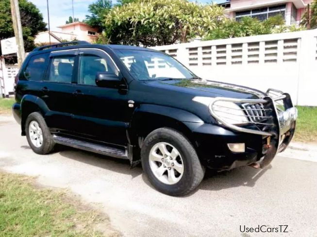 used toyota toyota land cruiser prado 2004 toyota land. Black Bedroom Furniture Sets. Home Design Ideas
