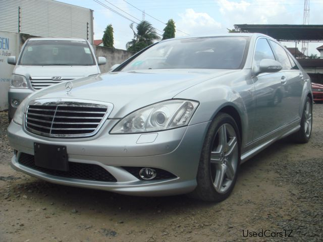Used mercedes benz s 550 2008 s 550 for sale dar es for Used cars for sale mercedes benz