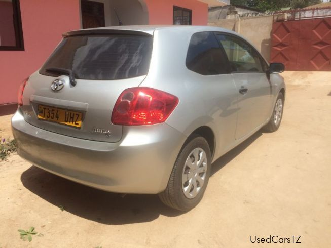 used toyota auris 2009 auris for sale morogoro toyota. Black Bedroom Furniture Sets. Home Design Ideas