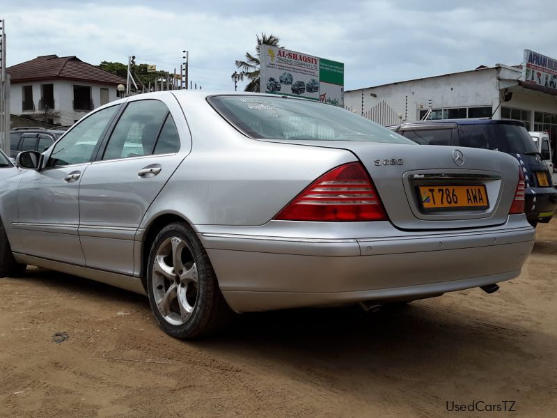 Used mercedes benz s280 2001 s280 for sale dar es for Mercedes benz s280 for sale