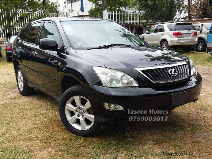 Pre-owned Toyota Harrier Lexus for sale in