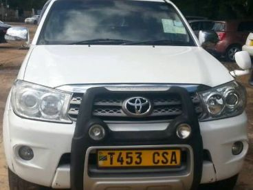 Pre-owned Toyota vvti eng Fortuner for sale in
